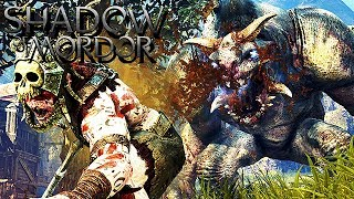 Mittelerde Mordors Schatten Gameplay German - Meister der Jagd