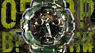 G-SHOCK GA-100CM-5A КАМУФЛЯЖ | Обзор и настройка (на русском) | Купить со скидкой(, 2015-12-27T11:14:05.000Z)