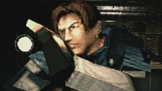 Playing Resident Evil 2 Remake with PlayStation One graphics