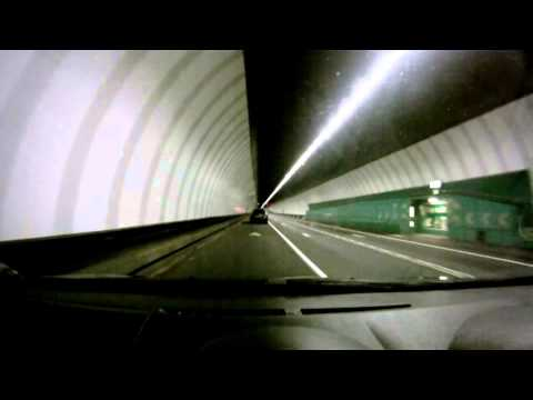 Driving Through The Mersey Tunnel