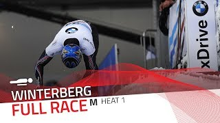 Winterberg | BMW IBSF World Cup 2017/2018 - Men's Skeleton Heat 1 | IBSF Official