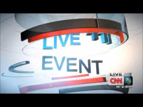 """CNN International """"Live Event"""" intro / outro"""