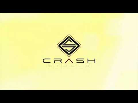 Welcome to Crash Studio  / logo /Waves crash /