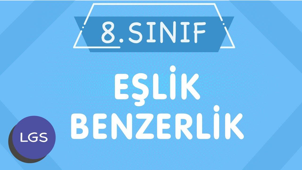 LGS EŞLİK ve BENZERLİK 8.Sınıf Matematik Yeni Nesil Konu Anlatımı-PDF (İMT Hoca)