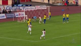 Sepsi OSK - Dunarea Calarasi 1-0, cum a marcat golul Marko Simonovski (min 3)