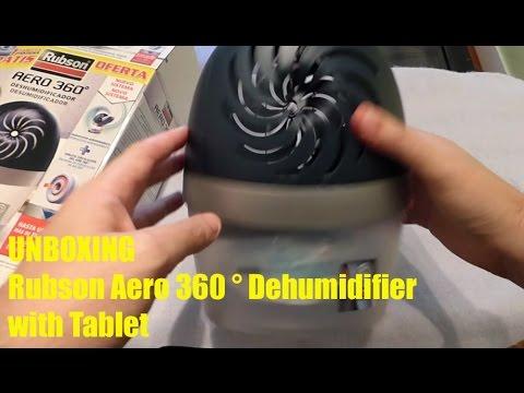Unboxing rubson aero 360 dehumidifier with tablet youtube - Aero 360 rubson ...