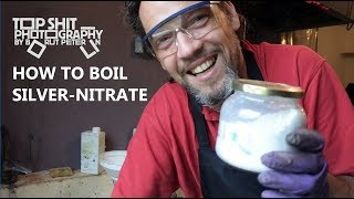 How to boil silver-nitrate bath for wet plate collodion process / TPV #23
