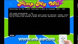 Piratear Wii | Tutorial Pimp My Wii y la Instalación de los cIOS D2X, Hermes y Waninkoko.[Español]