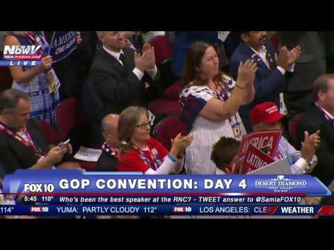 KOREAN AMERICANS FOR TRUMP: Dr. Lisa Shin Speaks at 2016 GOP Convention - FULL RNC SPEECH - FNN