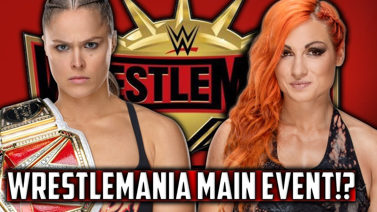 Image result for Becky Lynch vs. ronda Rousey WrestleMania 35