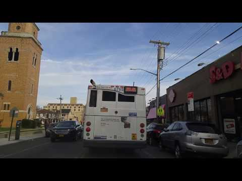 Driving from Brownsville to Canarsie in Brooklyn,New York