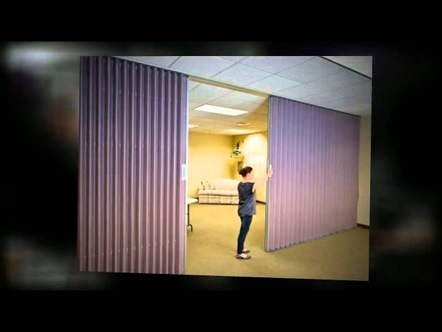folding room dividers and operable