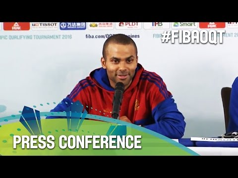 France v Philippines - Press Conference - 2016 FIBA Olympic Qualifying Tournament - Philippines