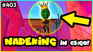 How NADEKING really PLAYS CS:GO! - CS:GO BEST ODDSHOTS #403
