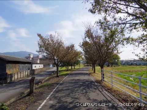 つくばりんりんロード正式名:桜川土浦自転車道