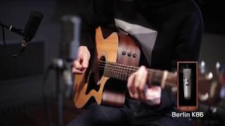 Recording acoustic guitars with Edge Solo by Antelope Audio