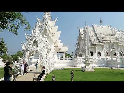 kev in Thailand, The White Temple, Wat Rong Khun, Chiang Rai  Vlog 280