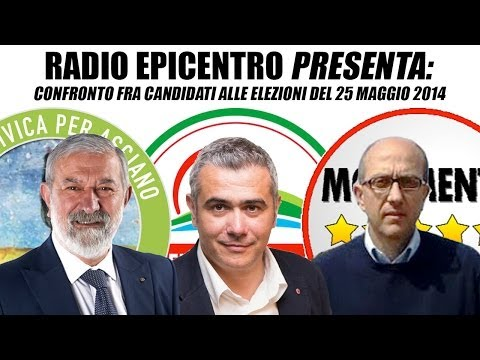 Confronto fra Candidati • Elezioni Amministrative 2014, Asciano (Siena)