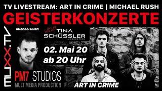 Geisterkonzert LIVE mit Michael Rush, Art in Crime und Tina Schüssler