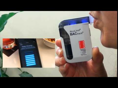 AlcoLimit BACtrack Smartphone Breathalyser