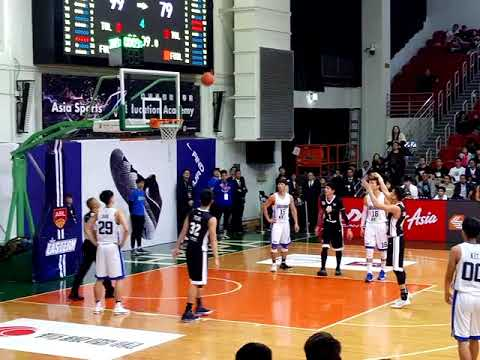 Final moments of the HK vs TW ASEAN Basketball League Match