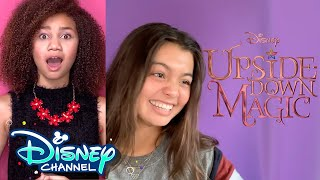 Music Videos & Promoting a Movie | Episode 4 | UDM Diaries | Upside-Down Magic | Disney Channel