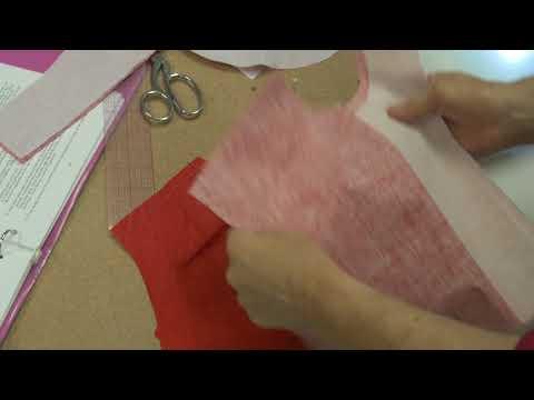 Sewing Lesson: Neck Facing - Shoulder (3/5)