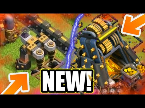 NEW LEVEL GOLD MINES AND DE DRILLS UPDATE LEAKS CLASH OF CLANS!