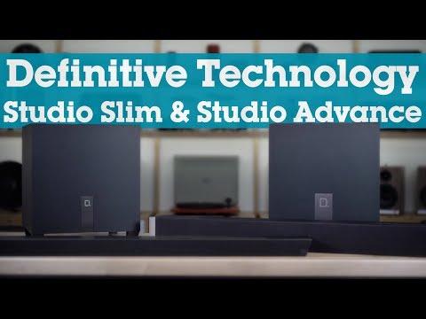 Definitive Technology Studio Slim & Studio Advance sound bars | Crutchfield