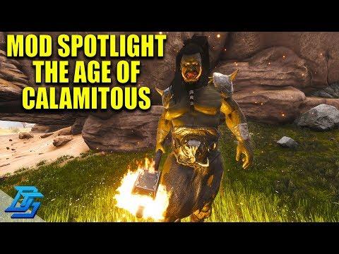 THE AGE OF CALAMITOUS, CONAN EXILES MOD SPOTLIGHT - Conan Exiles (Modded)