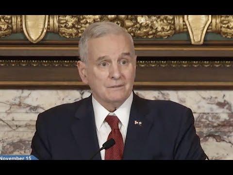 MN Governor Mark Dayton News Conference- Full Event