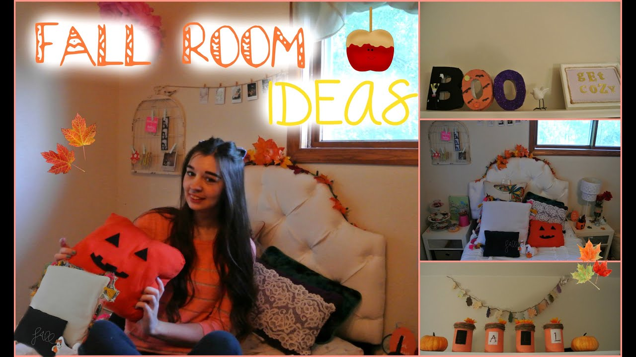 Tumblr Inspired Fall DIY Room Decor