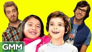 Rhett & Link React to Kids React to Rhett & Link