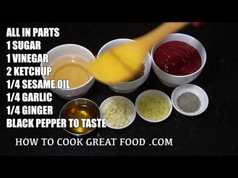 How to make Sweet n Sour Sauce - Homemade Sweet & Sour Sauce - Easy Sweet n Sour