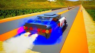 Lego High Speed Crashes #2   Brick Rigs