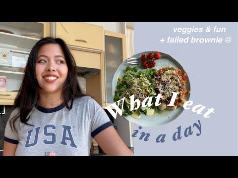 Wat ik eet op een dag: easy, veggies \u0026 geen vlees indir