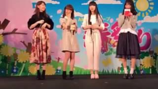 NGT48 北柏から西荻へ 北原キャップからのお手紙。北原里英 柏木由紀 荻野由佳 西潟茉莉奈 きたりえ ゆきりん おぎゆか がたねぇ『AKB48グループ春祭り』ステージイベント