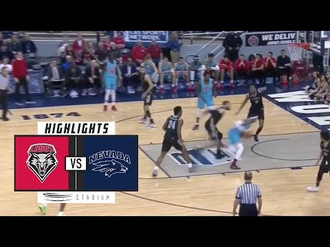 New Mexico vs. No. 6 Nevada Basketball Highlights (2018-19) | Stadium