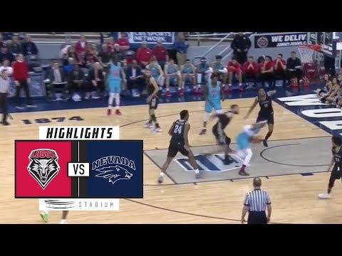 New Mexico vs. No. 6 Nevada Basketball Highlights (2018-19) | Stadium