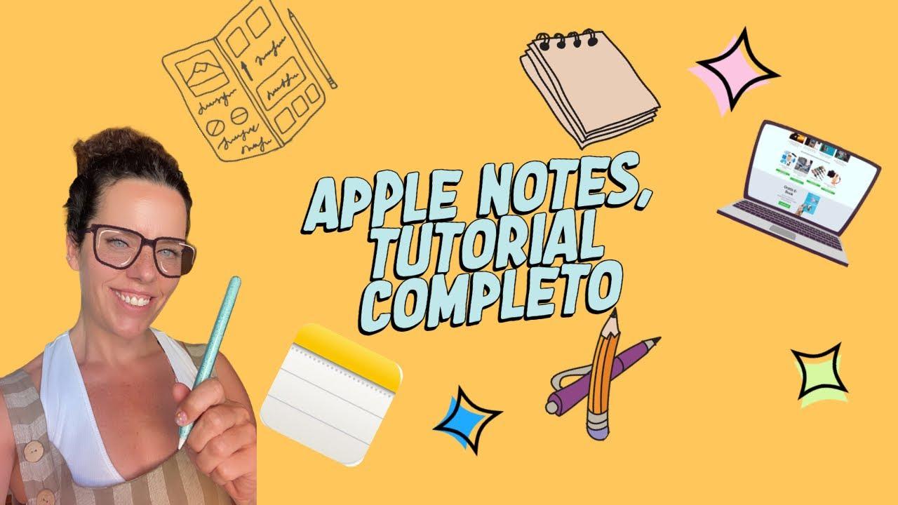 Tutorial Apple Notes