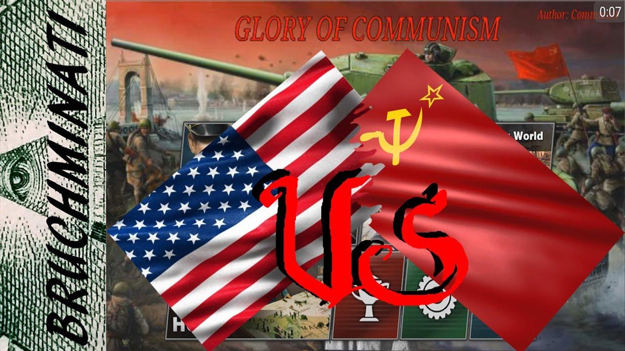 usa ussr communism war glory conqueror mod