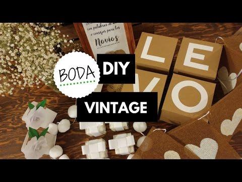 DIY Boda Vintage !!!!!