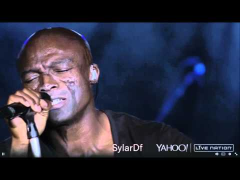 Seal presenting 7 Live at NY 2015