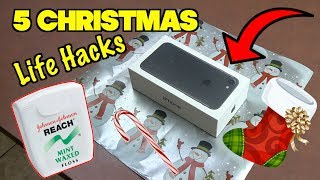 5 Simple Life Hacks That Will Save Christmas-  XMAS HACKS  Nextraker