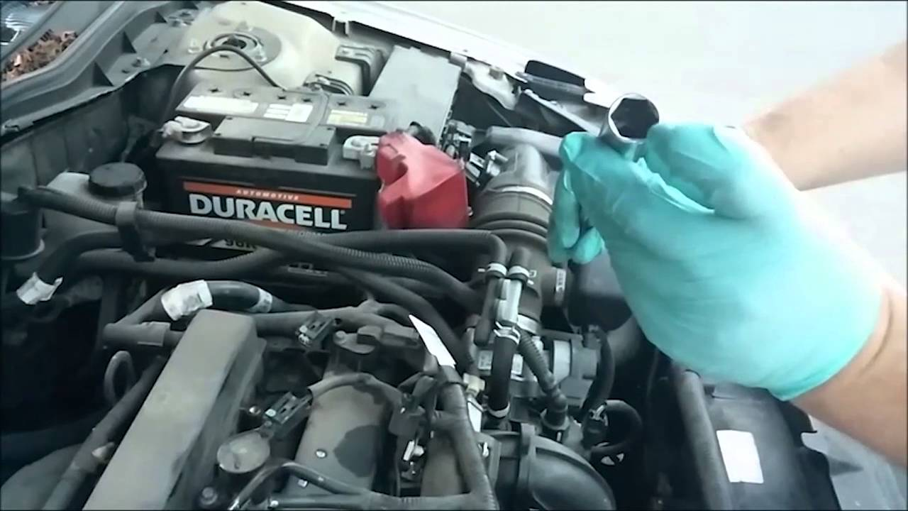 2010 Ford Fusion Spark Plug Change - YouTube