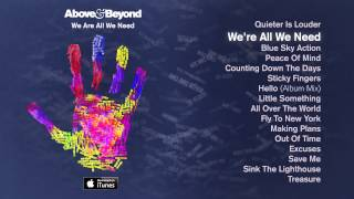 Above Beyond We Re All We Need Feat Zoë Johnston