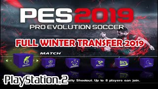 PES 2019 Full Winter Transfer 19 dengan Kamera PS4 - PS2 ISO