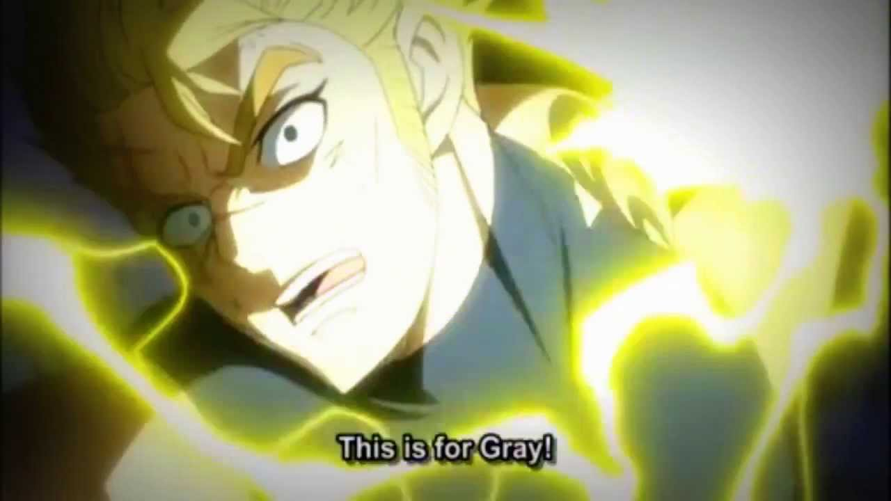 Fairy Tail AMV Laxus vs Alexei - YouTube