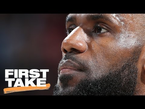 Are You Buying That LeBron Is Tired? | First Take | May 24, 2017