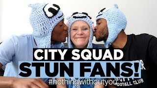 MAN CITY PLAYERS SHOCK FANS! #nothingwithoutyou